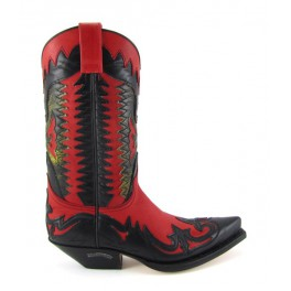 Stivale Sendra 3840 Hurrican Rojo