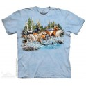 T-shirt The Mountain Find 20 Running Horses