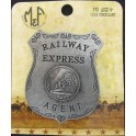 Badge Railway Express Agent