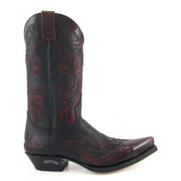 9768 Flora Rojo Dirty - Stivale Sendra Boots