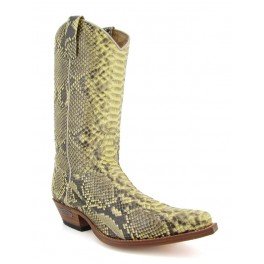 2966 Piton Barriga Natural Amarillento - Stivali Sendra Boots